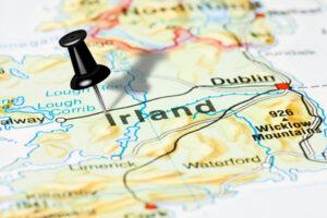 Kartenausschnitt Irland