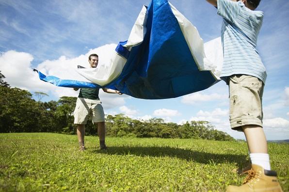 Familienzelt für Camping und Outdoor