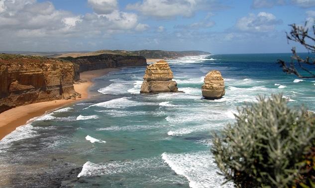 Die Küste Australiens