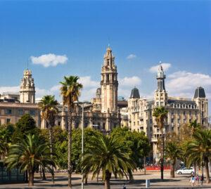 Die Stadt Barcelona
