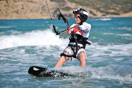 Kitesurfen - so geht's