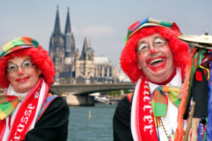 Inhalt des Artikels ist der Karneval in Köln.
