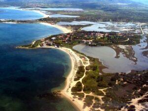 Landeanflug auf Sardinien