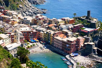 """Cinque Terre - die """"Fünf-Dörfer-Küste"""" bezaubert Wanderer aus aller Welt"""