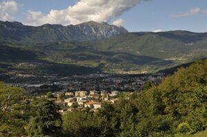 Blick auf Rovereto