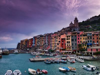 Portovenere. La Spezia province, Ligurian coast, Italy.