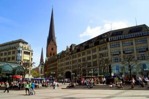 Rathaus in Hamburg.