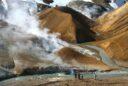 Eis, Gletscher und der allgegenwärtige Vulkanismus sorgen auf Island für faszinierende Naturschauspiele wie hier im Geothermalgebiet Kerlingarfjöll im zentralen Hochland. Foto: djd/contrastravel.com